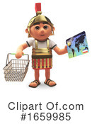 Roman Soldier Clipart #1659985 by Steve Young