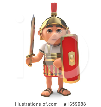 Roman Clipart #1659988 by Steve Young
