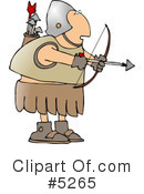 Royalty-Free (RF) Roman Soldiers Clipart Illustration #5265
