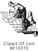 Roofing Clipart #210373 by BestVector