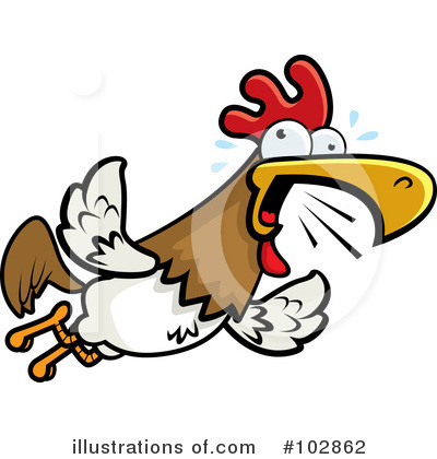 Rooster Clipart #102862 by Cory Thoman