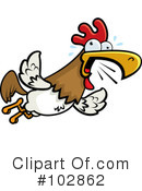 Royalty-Free (RF) Rooster Clipart Illustration #102862