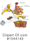 Royalty-Free (RF) Rooster Clipart Illustration #1044143