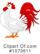 Royalty-Free (RF) Rooster Clipart Illustration #1073611