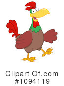 Royalty-Free (RF) Rooster Clipart Illustration #1094119