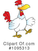 Royalty-Free (RF) Rooster Clipart Illustration #1095313