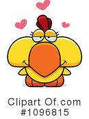 Royalty-Free (RF) Rooster Clipart Illustration #1096815