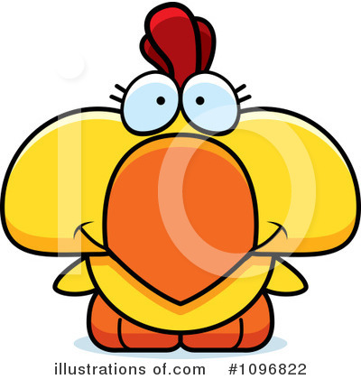 Chicken Clipart #1096822 by Cory Thoman