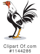 Royalty-Free (RF) Rooster Clipart Illustration #1144286