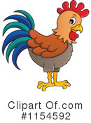 Royalty-Free (RF) Rooster Clipart Illustration #1154592