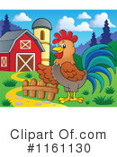 Royalty-Free (RF) Rooster Clipart Illustration #1161130
