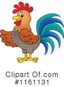 Royalty-Free (RF) Rooster Clipart Illustration #1161131