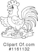 Royalty-Free (RF) Rooster Clipart Illustration #1161132