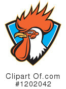 Royalty-Free (RF) Rooster Clipart Illustration #1202042