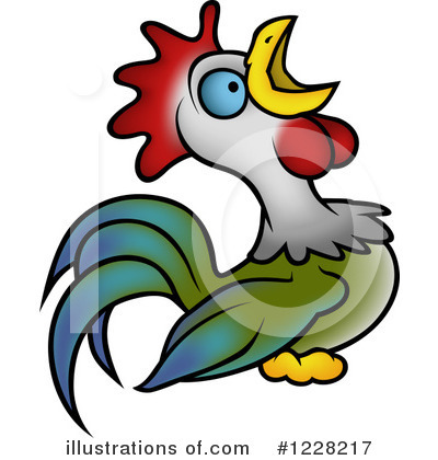 Rooster Clipart #1228217 by dero