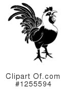Rooster Clipart #1255594 by AtStockIllustration