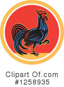 Royalty-Free (RF) Rooster Clipart Illustration #1258935