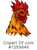 Rooster Clipart #1259846 by BNP Design Studio