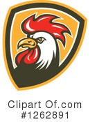 Royalty-Free (RF) Rooster Clipart Illustration #1262891