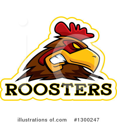 Rooster Clipart #1300247 by Cory Thoman