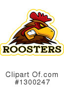 Royalty-Free (RF) Rooster Clipart Illustration #1300247