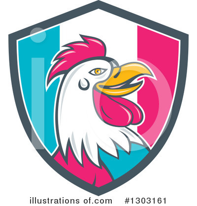 Rooster Clipart #1303161 by patrimonio