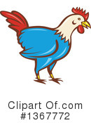 Royalty-Free (RF) Rooster Clipart Illustration #1367772