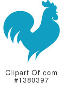 Royalty-Free (RF) Rooster Clipart Illustration #1380397