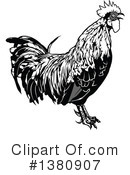 Royalty-Free (RF) Rooster Clipart Illustration #1380907