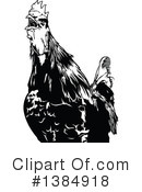 Royalty-Free (RF) Rooster Clipart Illustration #1384918