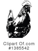 Royalty-Free (RF) Rooster Clipart Illustration #1385542