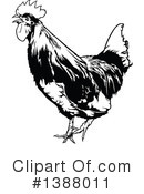 Royalty-Free (RF) Rooster Clipart Illustration #1388011