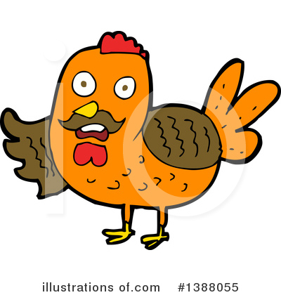 Chicken Clipart #1388055 by lineartestpilot