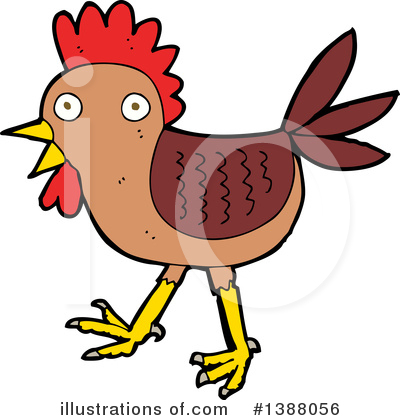 Chicken Clipart #1388056 by lineartestpilot
