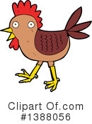 Rooster Clipart #1388056 by lineartestpilot