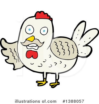 Chicken Clipart #1388057 by lineartestpilot