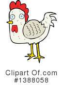 Rooster Clipart #1388058 by lineartestpilot