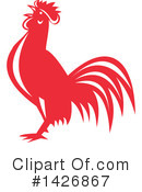 Royalty-Free (RF) Rooster Clipart Illustration #1426867