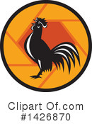 Rooster Clipart #1426870 by patrimonio