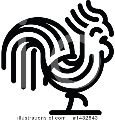 Rooster Clipart #1432843 by elena