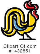Royalty-Free (RF) Rooster Clipart Illustration #1432851