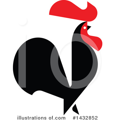 Rooster Clipart #1432852 by elena