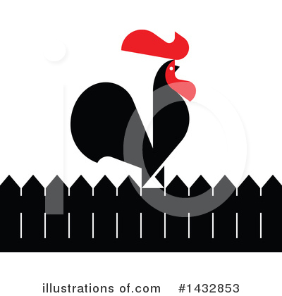 Rooster Clipart #1432853 by elena