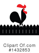Royalty-Free (RF) Rooster Clipart Illustration #1432853