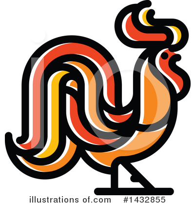 Rooster Clipart #1432855 by elena