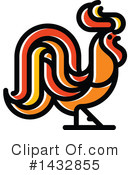 Royalty-Free (RF) Rooster Clipart Illustration #1432855