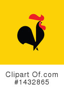 Rooster Clipart #1432865 by elena