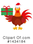 Royalty-Free (RF) Rooster Clipart Illustration #1434184