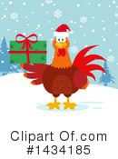 Royalty-Free (RF) Rooster Clipart Illustration #1434185