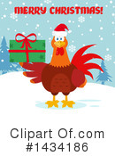 Royalty-Free (RF) Rooster Clipart Illustration #1434186